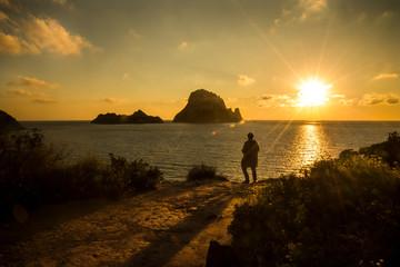 Paisajes de Ibiza. Islas Baleares