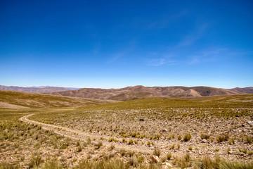Landscape view of Jujuy, Argentina
