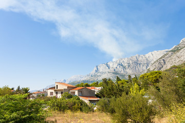 Makarska, Dalmatia, Croatia - A traditional farmhouse within the Riviera of Makarska