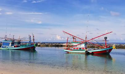 Fishing Boats, Koh Phangan, Thailand