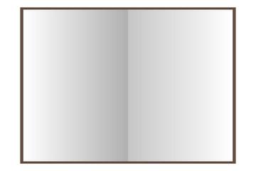 Libros vacíos sobre fondo blanco.