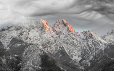 Obraz Zakopane w Tatrach - fototapety do salonu