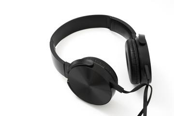 headphones earphones realistic black headphones