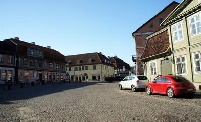 Landscapes of Latvia.Old Town Kuldiga.