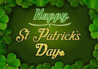 Happy Saint Patrick's Day - Golden