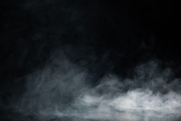 Abstract Smoke on black Background Fototapete
