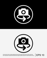 Rotate Camera Icon Template