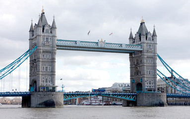 Fond de hotte en verre imprimé Pont Tower Bridge in London