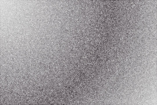 Silver gradient background with sparkles. Vector illustration.