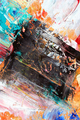 abstract artwork as background. Art is created and painted by photographer.