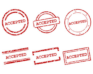Accepted Stempel