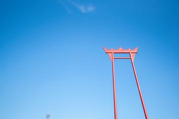 Giant Swing in bangkok thailand