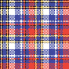 Modern check plaid seamless pattern