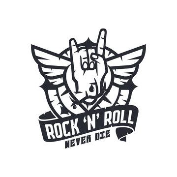 Rock N Roll Illustration