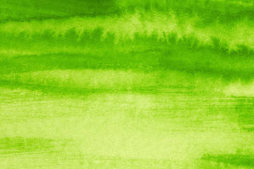 green watercolor background with a watercolor texture