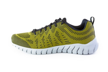 isolated unisex modern style sport shoe