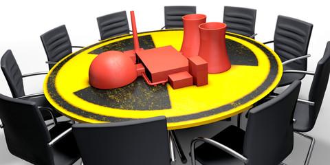 Konzept Atomausstieg