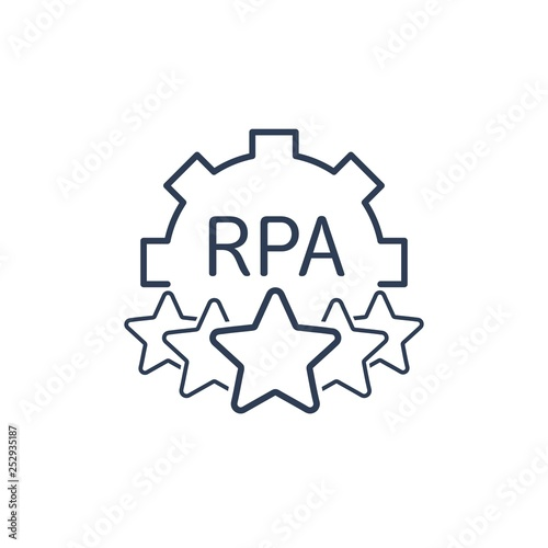 The leader of smart technology  RPA robotic process
