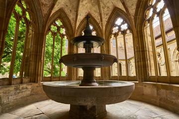 The fountain at Maulbronn Monastery, Germany