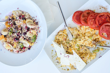 tasty, food, sweet, fresh, berry, delicious, homemade, almonds, health, cereal, raw, granola,...