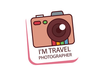 Cute Travel Icon And Vacation
