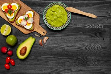 Masło z awokado - guacamole