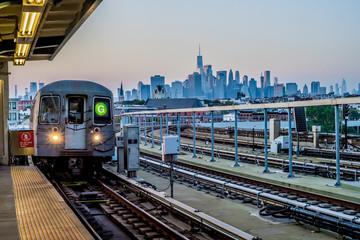 G Train at Station