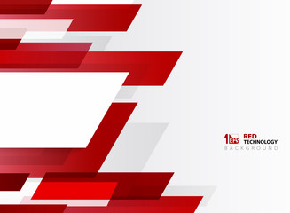 Abstract technology gradient red stripe line pattern with white background. You can use for poster, brochure, modern artwork, annual report.