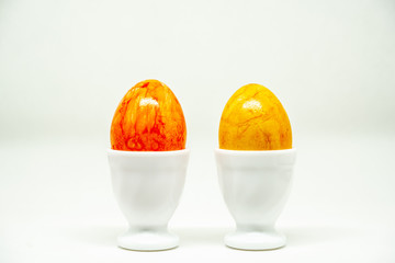 colored eggs for .Easter