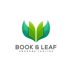 Book Leaf Concept illustration vector