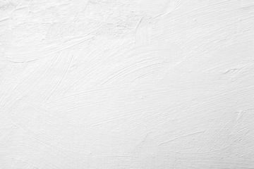 white brush stroke on canvas
