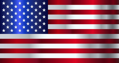 American Stars and Stripes Flag