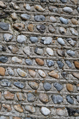 Pebble wall texture