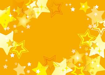 輝く星のパターン