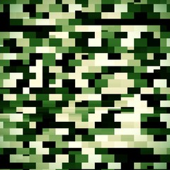 ARmy camouflage abstract pixel graphic background