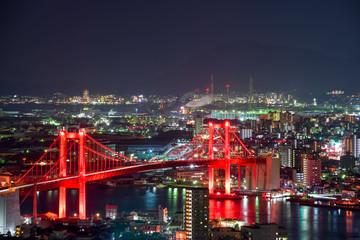 高塔山公園から見る新日本3大夜景