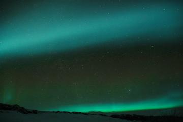 Northern Lights near Reykjavik