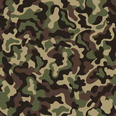 Military camouflage pattern.
