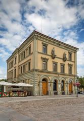 Historical house in Tartu, Estonia