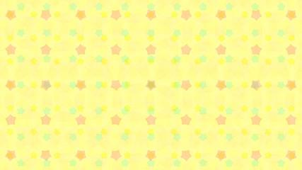 Nursery themed star background