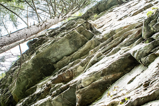 NC Linville Gorge rocks