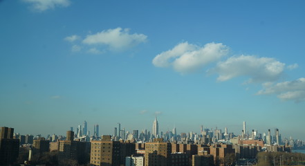 NYC view from Williamsburg bridge  2