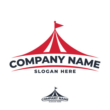 vector logo tent for event