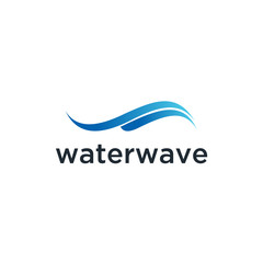 Water Wave Logo abstract vector template. Aqua icon. sea ocean Logo design inspiration