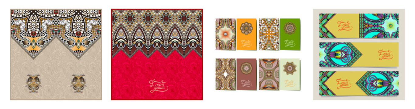 Moroccan template with place for your text, you can be used for invitation card, postcard