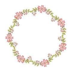 cute flowers wreath crown