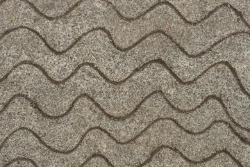 wave pattern on sandy ground background
