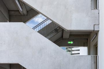 Fluchtweg Treppenhaus Sicherheit