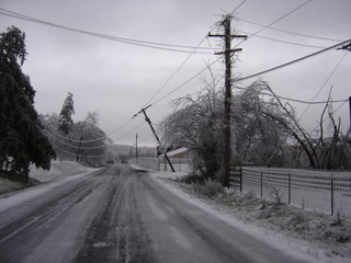 Ice Storm Power Outage