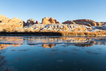 Ice in the Colorado River